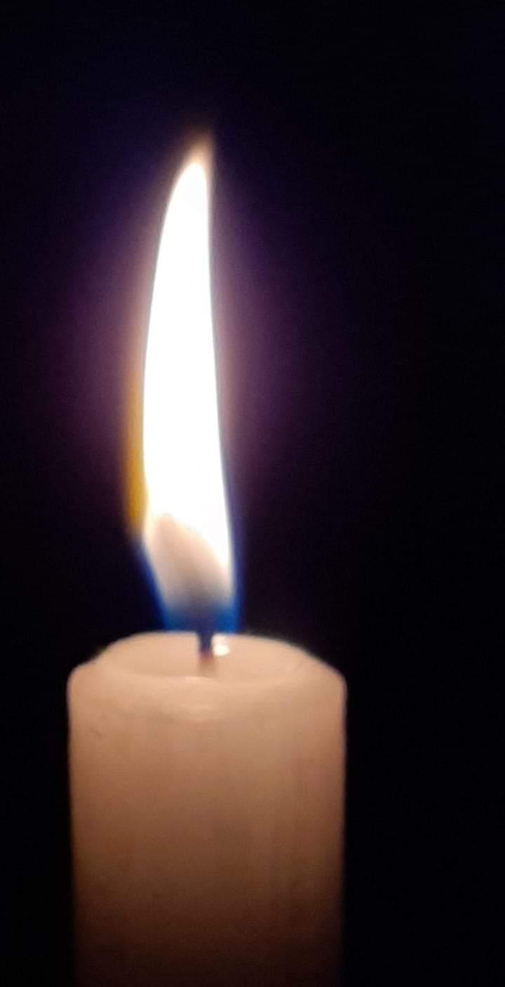 """Und dies ist die eigene Kerze von """"Fördefrau"""""""