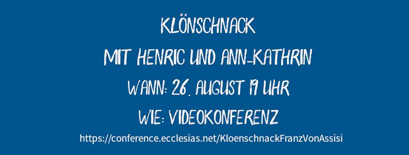 Klönschnack mit Henric und Ann-Kathrin