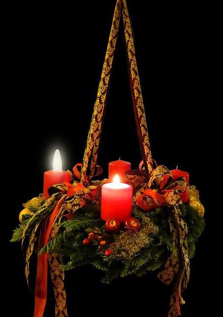 Unsere Lichter des Advents