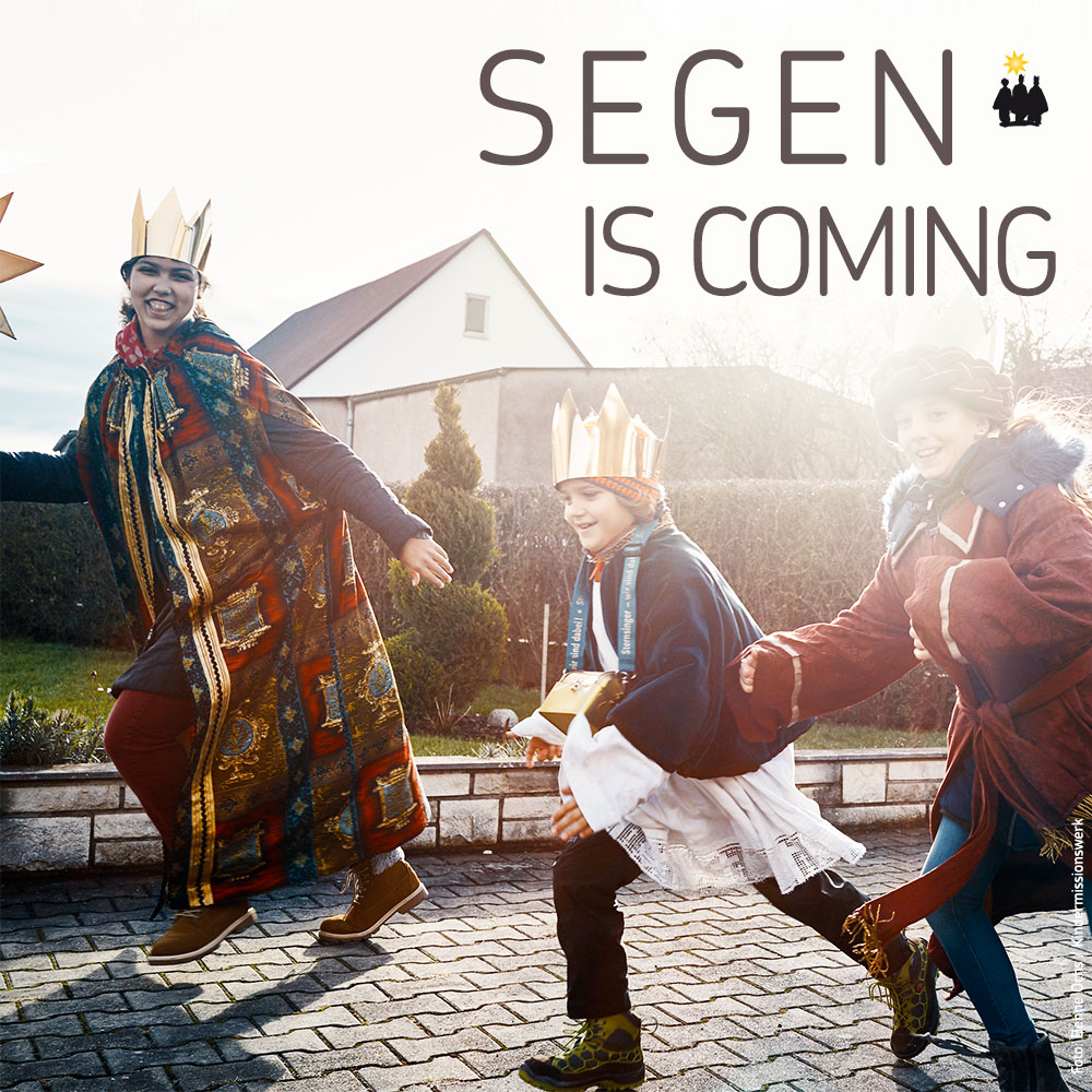 Segen is coming…