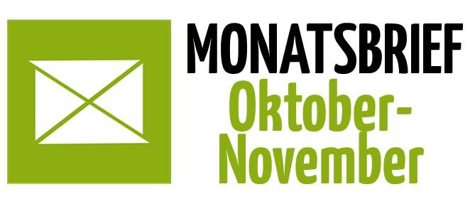 Monatsbrief Oktober-November