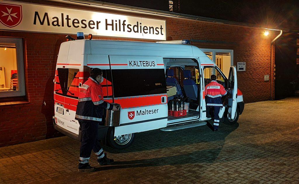 NEU: Kältebus in Kiel