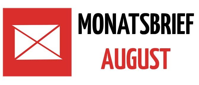 Monatsbrief August